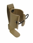 Hann Holsters Banger Clip, MOLLE Thunder B Grenade Holder, Tan