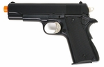 HFC Airsoft Black 1911 Style Spring Pistol