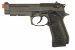 HFC Full Metal CO2 M92 Airsoft Pistol, Semi Auto