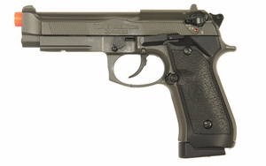 HFC Full Metal M9 Style Co2 Pistol with Blowback, Full/Semi Auto
