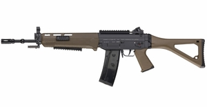 ICS-55 Sig 551 SWAT AEG, Long Barrel, Dark Earth