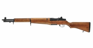 ICS M1 Garand AEG Airsoft Rifle, Full Size w/ Real Wood Stock