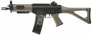 ICS SG-552 Commando AEG Airsoft Gun in Dark Earth