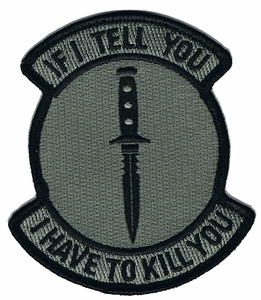 If I Tell You I Have To Kill You Patch, Dark ACU