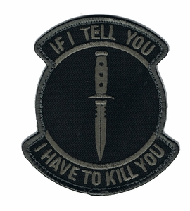 If I Tell You I Have To Kill You Patch, Dark-Ops
