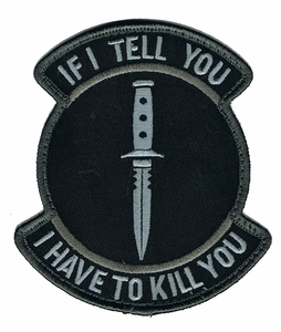 If I Tell You I Have To Kill You Patch, SWAT