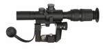 Illuminated 4x26 PSO-1 Style SVD Sniper Rifle Scope