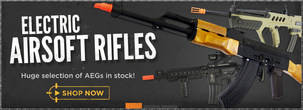 Electric Airsoft Rifles (AEGs)