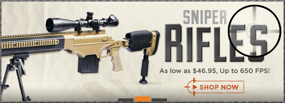 Airsoft Sniper Rifles