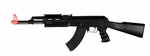 Tactical AK47 Plastic RIS Fixed Stock Electric Airsoft Gun