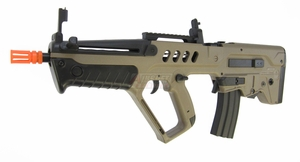 IWI Tavor TAR-21 Competition AEG Airsoft Gun by Umarex USA, Dark Earth