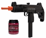 IWI Uzi & Ammo Combo Kit with 10,000 0.15g Red Jacket BBs