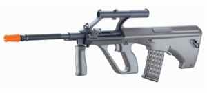 JG AUG Military AEG with 3x Built-In Scope