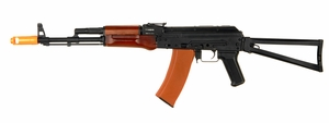 JG Full Metal AK-74U Blowback AEG with folding stock JG1010