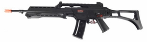 JG MK36 Electric Airsoft Rifle, LMG with Built In Bipod