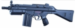 JG T3 SAS-G Tactical Airsoft SMG AEG, 400 FPS
