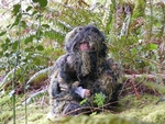 Kids Sniper 4-Piece Woodland Ghillie Suit, Large