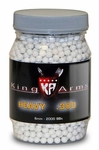 King Arms 6mm airsoft BBs, 0.30g, 2000 rds, white