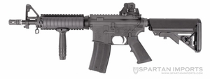 King Arms Colt M4 CQB-R Gas Blowback Rifle
