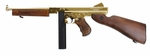 King Arms Thompson M1A1, Gold Edition, Real Wood