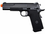 KJW Full Metal KP08 1911 Gas Blowback Airsoft Pistol