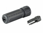Knights Armament Full Metal KAC CDC/CQB CD Barrel Extension and Flash Hider by Madbull, 4.78""