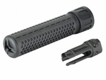 Knights Armament Full Metal KAC CDC/CQB CD Barrel Extension and Flash Hider by Madbull, 6.69""