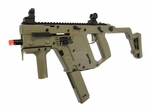 KWA KRISS Vector Gas Blowback Airsoft SMG, Tan