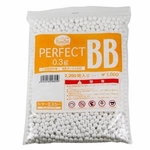 KWA/KSC Perfect 0.30g 6mm BBs, 2200 Rounds, White