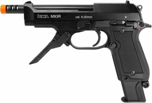 KWA M93R Airsoft Pistol with NS2 gas system