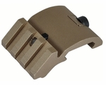 Lancer Tacitcal 45 Degree Light Mount - Tan