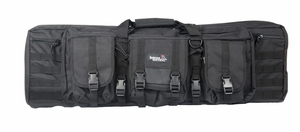 "Lancer Tactical 36"" MOLLE Single Padded Gun Bag, Black"