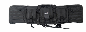 "Lancer Tactical 46"" MOLLE Single Padded Gun Bag, Black"