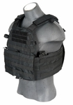 Lancer Tactical 6094 Plate Carrier Vest, Black