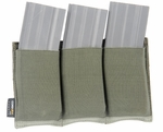 Lancer Tactical Triple M4 Magazine Pouch - Green