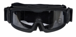 Lancer Tactical Airsoft Safety Goggles, Vented, Black Frame, Clear Lens