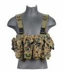 Lancer Tactical AK Chest Rig, Woodland Digital MARPAT