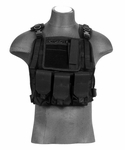 Lancer Tactical CA-301B Molle Plate Carrier Vest in Black