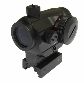 Lancer Tactical Full Metal Red/Green Dot Sight with Riser Mount