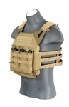 Lancer Tactical JPC Jumpable Plate Carrier, Coyote Brown
