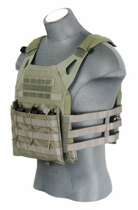Lancer Tactical JPC Jumpable Plate Carrier, Foliage Green