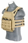 Lancer Tactical JPC Jumpable Plate Carrier, Tan