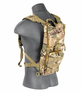 Lancer Tactical Lightweight Hydration Pack, Camo