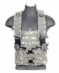 Lancer Tactical M4 Chest Rig with Hydration Carrier, ACU