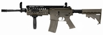 Lancer Tactical M4 S-System Combat Ready AEG, Dark Earth