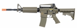 Lancer Tactical M4A1 Carbine Combat Ready AEG, Dark Earth