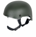 Lancer Tactical MICH 2001 Tactical Helmet, OD Green