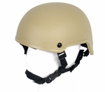 Lancer Tactical MICH 2001 Tactical Helmet, Tan