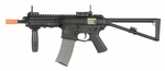 Knights Armament PDW AEG Airsoft Gun, Side Folding Stock, Metal Gearbox by Lancer Tactical