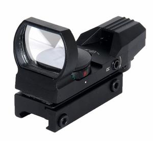 Lancer Tactical Red/Green Dot Reflex Sight, 4 Reticles